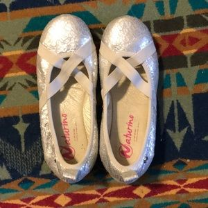 Naturino girls/toddler ballet flats 27